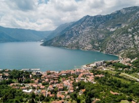 Risan, Montenegro, Land for sale with views over Bay of Kotor