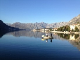 Quiet moment in the Bay near Kotor.